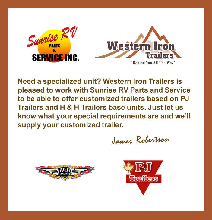 Custom Trailers from Western Iron Trailers